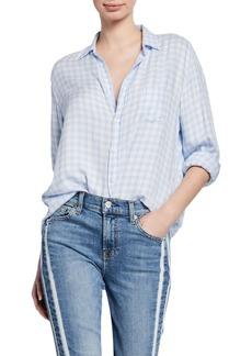 Frank & Eileen Checkered Button-Down Long-Sleeve Shirt
