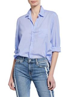 Frank & Eileen Cotton Button-Down Long-Sleeve Shirt  Lavender