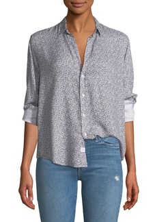 Frank & Eileen Ditsy Floral Button-Down Top