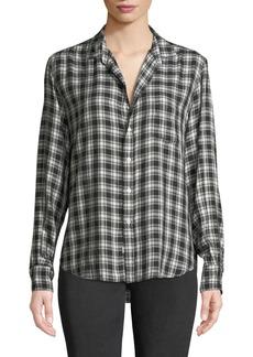 Frank & Eileen Eileen Long-Sleeve Plaid Button-Front Shirt