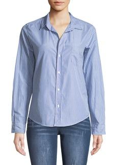 Frank & Eileen Barry Button-Front Long-Sleeve Striped Shirt