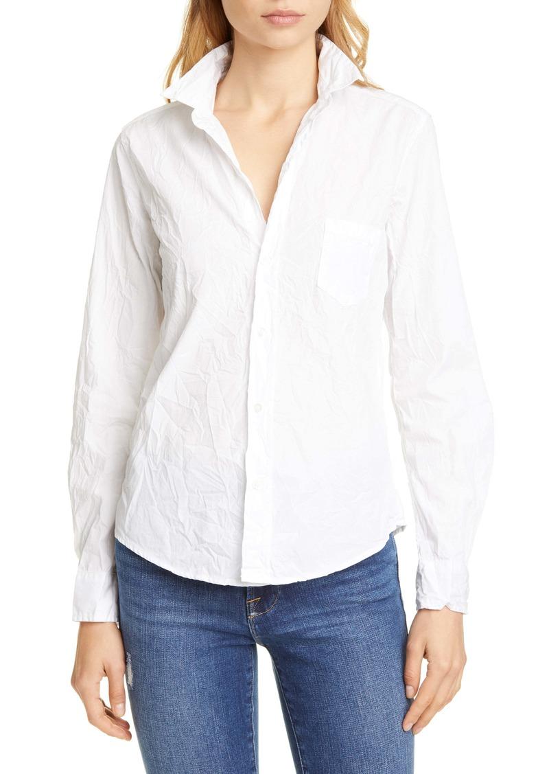 Frank & Eileen Barry Signature Crinkle Cotton Shirt