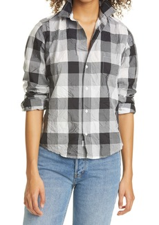 Frank & Eileen Barry Signature Crinkle Button-Up Shirt