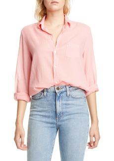 Frank & Eileen Cotton Voile Button-Up Shirt