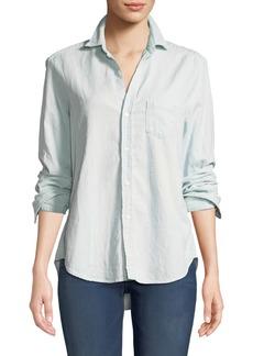Frank & Eileen Eileen Long-Sleeve Button-Down Cotton Shirt