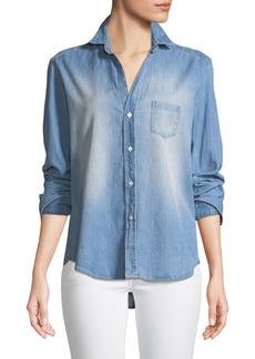 Frank & Eileen Eileen Long-Sleeve Button-Down Denim Shirt