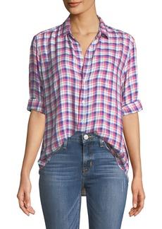 Frank & Eileen Eileen Long-Sleeve Plaid Button-Down Shirt
