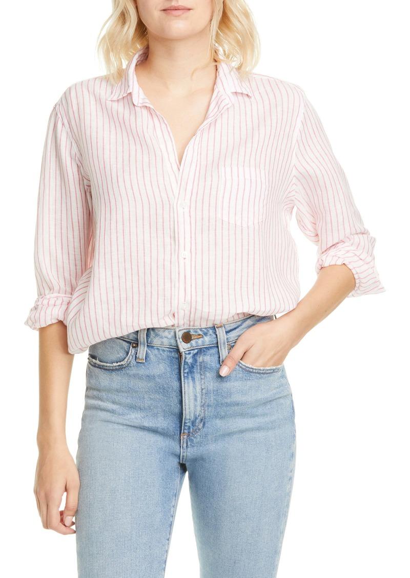 Frank & Eileen Eileen Stripe Linen Shirt