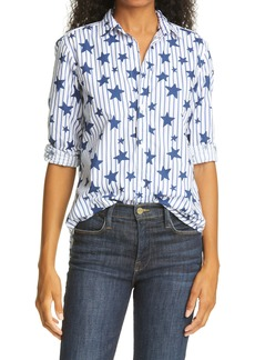 Frank & Eileen Frank Stars & Stripes Superfine Poplin Button-Up Shirt