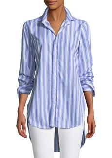 Frank & Eileen Grayson High-Low Button-Down Shirt