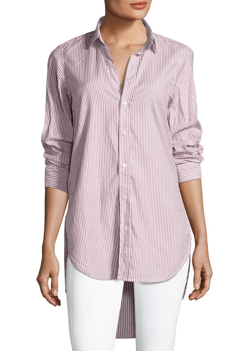 3b1ded7bc Frank & Eileen Grayson Long-Sleeve Button-Front Striped Poplin Shirt