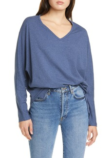 Frank & Eileen Long Dolman Sleeve V-Neck Tee