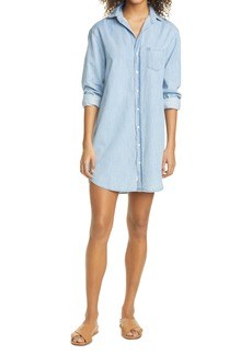 Frank & Eileen Mary Long Sleeve Chambray Shirtdress