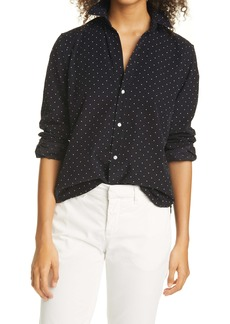 Frank & Eileen Polka Dot Button-Up Shirt