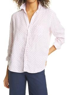 Frank & Eileen Print Linen Button-Up Shirt