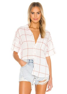 Frank & Eileen Rose Short Sleeve Button Down