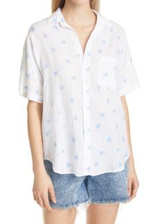 Frank & Eileen Short Sleeve Linen Button-Up Shirt