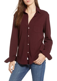 Frank & Eileen Tee Lab Button Front Jersey Shirt