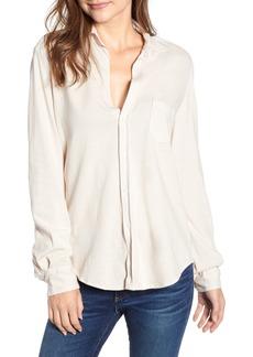 Frank & Eileen Tee Lab Eileen Jersey Button Front Shirt