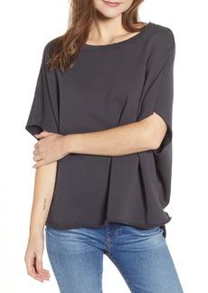 Frank & Eileen Tee Lab Fleece Capelet Sweatshirt