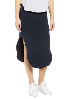 Frank & Eileen Tee Lab Fleece Midi Skirt