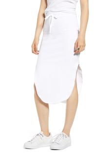Frank & Eileen Tie Waist Fleece Skirt