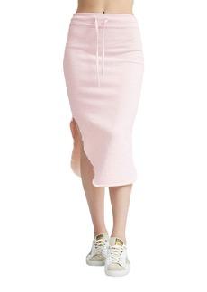 Frank & Eileen Long Fleece Midi Skirt
