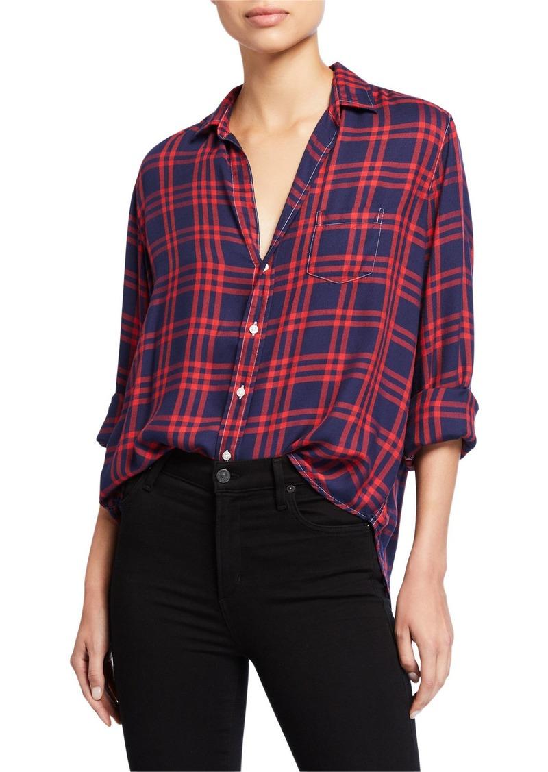 Frank & Eileen Plaid Long-Sleeve Button-Down Shirt