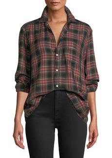 Frank & Eileen Tartan Check Long-Sleeve Button-Down Shirt
