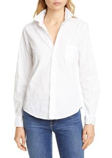 Women's Frank & Eileen Barry Signature Crinkle Cotton Shirt