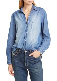 Women's Frank & Eileen Eileen Cotton Denim Shirt