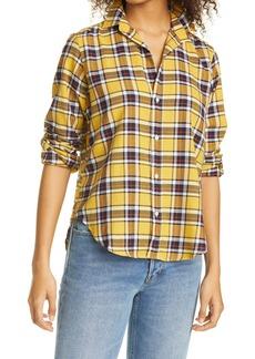 Women's Frank & Eileen Frank Plaid Crepe Button-Up Shirt