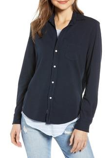 Women's Frank & Eileen Tee Lab Button Front Jersey Shirt