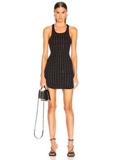 Frankie B Allover Rhinestone Mini Dress