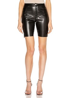 Frankie B Gigi Vegan Leather Biker Short