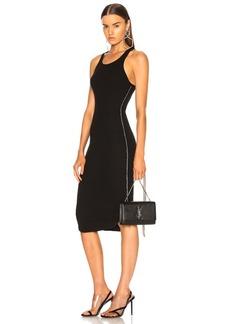 Frankie B Side Seam Rhinestone Dress