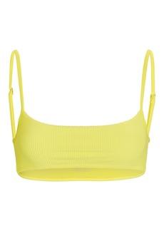 Frankies Bikinis Boots Ribbed Bikini Top