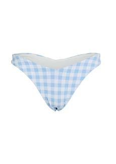 Frankies Bikinis Enzo Gingham Bikini Bottom