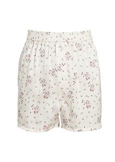 Frankies Bikinis Fifi Silk Paisley Shorts