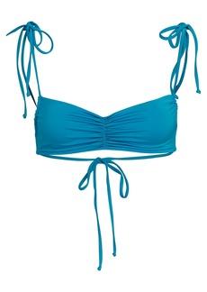 Frankies Bikinis Foxy Tie Strap Bikini Top