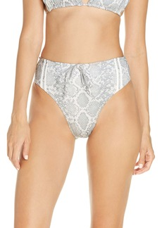 Frankies Bikinis Jetty High Waist Bikini Bottoms