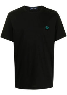 Fred Perry abstract graphic print T-shirt