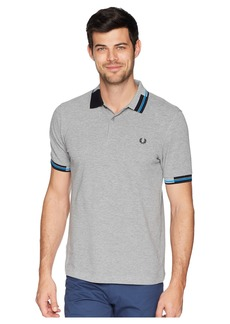 Fred Perry Abstract Tipped Pique Shirt