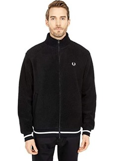 Fred Perry Borg Zip Through Fleece Jacket
