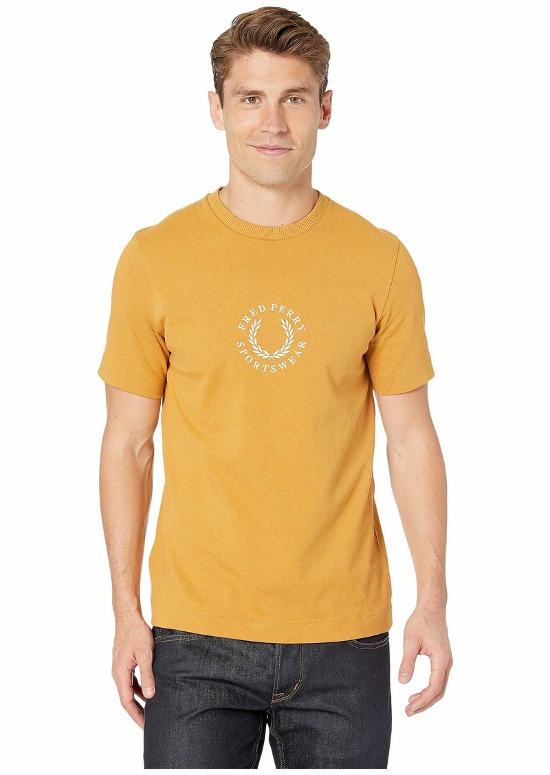 Fred Perry Circular Embroidered T-Shirt