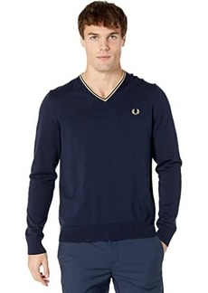 Fred Perry Classic V-Neck Jumper