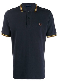Fred Perry contrast stripe polo shirt