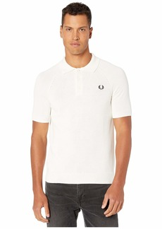 Fred Perry Contrast Texture Knitted Shirt