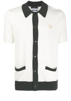 Fred Perry contrast trim soft shirt