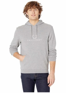 Fred Perry Embroidered Hooded Sweatshirt